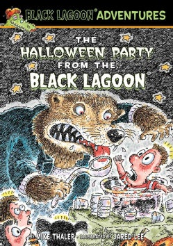 The Halloween Party from the Black Lagoon (Hardcover)