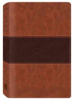 The KJV Study Bible: Two-Toned DiCarta Brown, Red Letter Edition (Paperback)