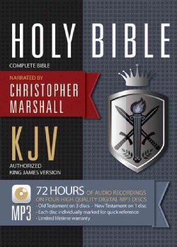 Holy Bible: King James Version: Complete Bible (CD-Audio)