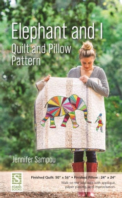 Elephant and I Quilt and Pillow Pattern (Paperback)