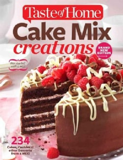 Taste of Home Cake Mix Creations (Paperback)