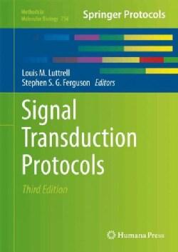 Signal Transduction Protocols (Hardcover)