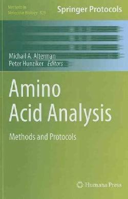 Amino Acid Analysis: Methods and Protocols (Hardcover)