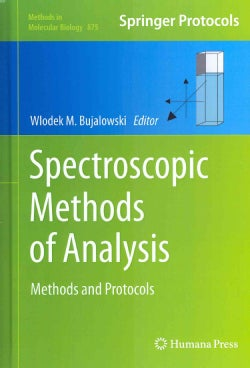 Spectroscopic Methods of Analysis: Methods and Protocols (Hardcover)