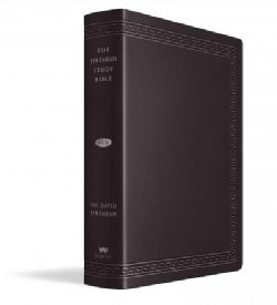 The Jeremiah Study Bible: New King James Version, Black, Leatherluxe (Paperback)