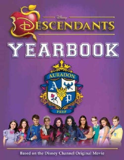 Disney Descendants Yearbook (Hardcover)