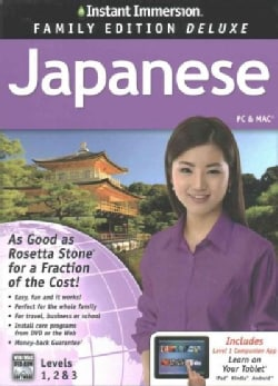 Instant Immersion Japanese, Levels 1, 2 & 3: Family Edition