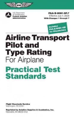 Airline Transport Pilot and Aircraft Type Rating (Paperback)