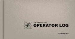 The Standard UAS Operator Logbook (Hardcover)