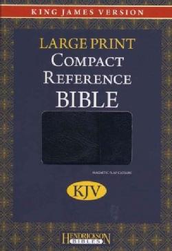 Holy Bible: King James Version, Black/Silver, Reference Bible, Flexisoft (Paperback)