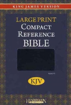 Holy Bible: King James Version,Compact Reference, Black Flexisoft, Magnetic Flap Closure (Paperback)
