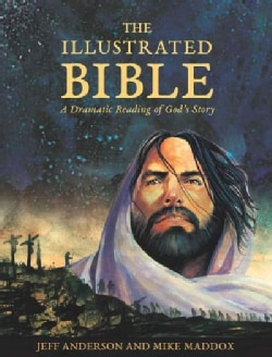 The Illustrated Bible: A Dramatic Reading of God's Story (Hardcover)