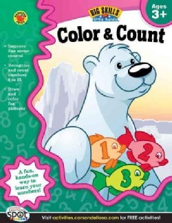 Color & Count Activity Book, Grades Preschool - K (Paperback)