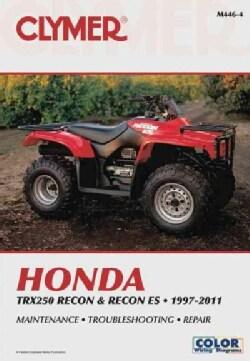Cylmer Manuals Honda TRX250 Recon & Recon ES 1997-2016 (Paperback)
