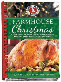 Farmhouse Christmas Cookbook: Updated With More Than 20 Mouth-watering Photos! (Hardcover)
