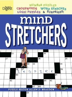 Mind Stretcher's Puzzle Book: Number Puzzles, Crosswords, Word Searches, Logic Puzzles & Surprises (Paperback)