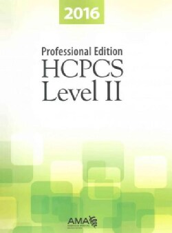 HCPCS Level II 2016 (Paperback)