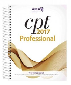 CPT 2017 Professional Edition (Paperback)