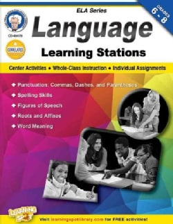 Language Learning Stations, Grades 6-8 (Paperback)