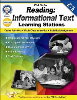 Reading, Grades 6-8: Informational Text Learning Stations (Paperback)