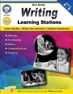 Writing Learning Stations, Grades 6 - 8 (Paperback)
