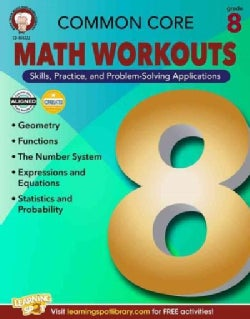 Common Core: Math Workouts, Grade 8 (Paperback)