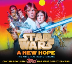 """Star Wars: A New Hope: The Original Radio Drama, Topps """"Light Side"""" Collectors Edition (CD-Audio)"""