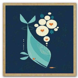 Whale Has a Friend Green Gift Notes (Cards)