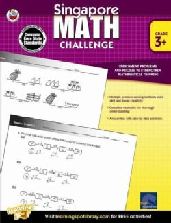 Singapore Math Challenge: Grade 3+ (Paperback)