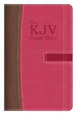 The KJV Study Bible: Brown/Pink (Paperback)
