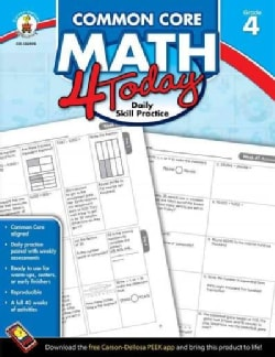 Common Core Math 4 Today, Grade 4: Daily Skill Practice (Paperback)
