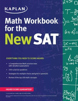 Kaplan Math Workbook for the New SAT (Paperback)
