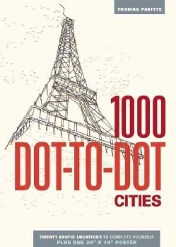1000 Dot-to-Dot Cities (Paperback)