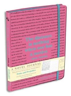 Pride and Prejudice - a Novel Journal (Notebook / blank book)