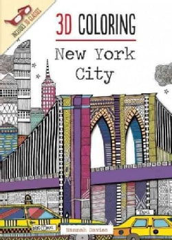 3D Coloring: New York City (Paperback)