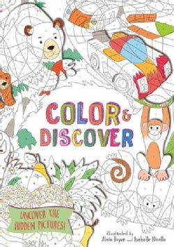 Color & Discover: Uncover the Hidden Picture (Paperback)