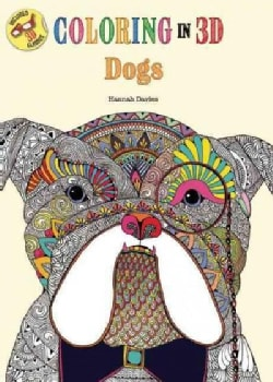 Coloring in 3d Dogs (Paperback)