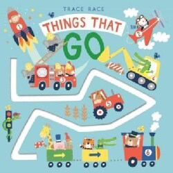 Trace Race Things That Go (Board book)