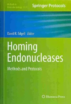 Homing Endonucleases: Methods and Protocols (Hardcover)