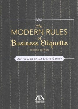The Modern Rules of Business Etiquette (Paperback)