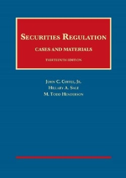 Securities Regulation: Cases and Materials (Hardcover)