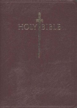 Holy Bible: King James Version, Burgundy Genuine Leather, Personal Size, Sword Study Bible (Paperback)
