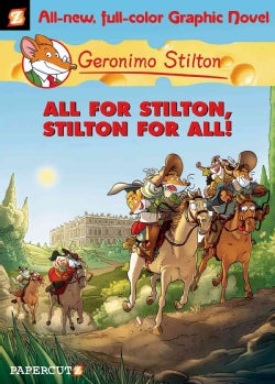 Geronimo Stilton 15: All for Stilton and Stilton for All (Hardcover)