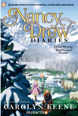 Nancy Drew Diaries 4: The Charmed Bracelet and Global Warning (Paperback)