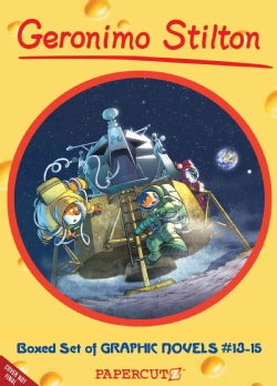 Geronimo Stilton: All for Stilton Stilton for All! / the First Mouse on the Moon / the Fastest Train in the West (Hardcover)