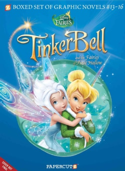 Disney Fairies 13-16: Tinkerbell and the Fairies of Pixie Hollow (Paperback)
