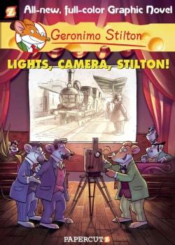 Geronimo Stilton 16: Lights, Camera, Stilton! (Hardcover)