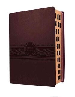 Holy Bible: Modern English Version, Personal Size, Cherry Brown (Paperback)