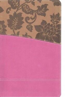 The KJV Study Bible: King James Version, Tan / Pink, Women's Edition (Paperback)