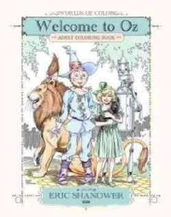 Welcome to Oz: Adult Coloring Book (Paperback)
